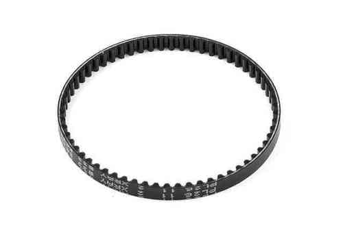 XRAY 335430 - N1 PUR® REINFORCED DRIVE BELT FRONT 5.0 x 186 MM - V2