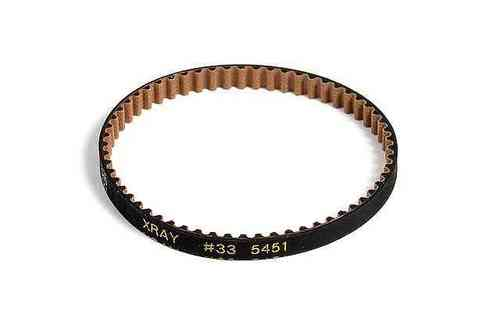 XRAY 335451 - NT1 HIGH-PERFORMANCE KEVLAR DRIVE BELT REAR 5.5 x 177 MM - V2