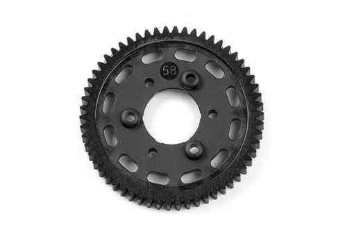 XRAY 335558 - NT1 COMPOSITE 2-SPEED GEAR 58T (1st)