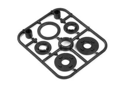 XRAY 335800 - NT1 COMPOSITE BELT PULLEY COVER SET