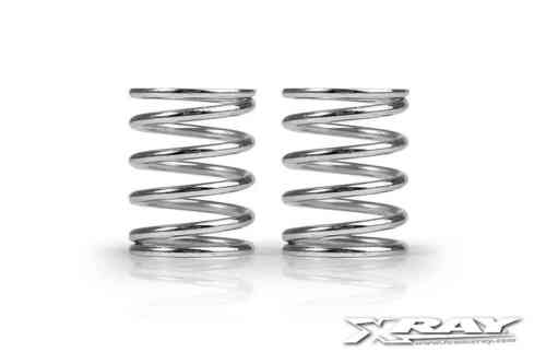 XRAY 338281 - NT1 XRAY PROGRESSIVE SPRING-SET C=3.7-4.7 - REAR (2 pieces)