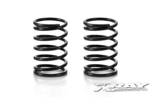 XRAY 338296 - NT1  SPRING-SET C=4.0 (28 LB) - ex-VIOLET - MEDIUM - REAR (2)