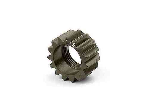 XRAY 338515 - NT1 XCA ALU 7075 T6 HARDCOATED PINION GEAR - 15T (1ST)