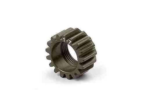 XRAY 338517 - NT1 XCA ALU 7075 T6 HARDCOATED PINION GEAR - 17T (1ST)