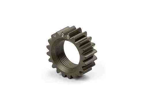 XRAY 338520 - NT1 XCA ALU 7075 T6 HARDCOATED PINION GEAR - 20T (2ND)