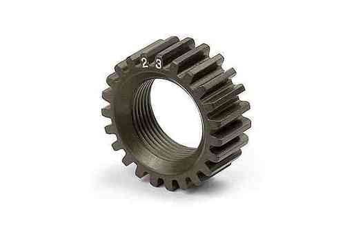 XRAY 338523 - NT1 XCA ALU 7075 T6 HARDCOATED PINION GEAR - 23T (2ND)