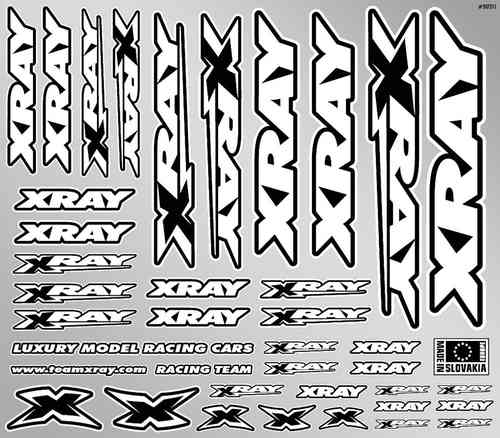XRAY 397311 - Sticker For Body - White