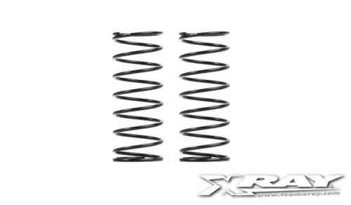 XRAY 368184 - XB4 FRONT SPRING-SET C=0.65 - 2 DOTS (2)