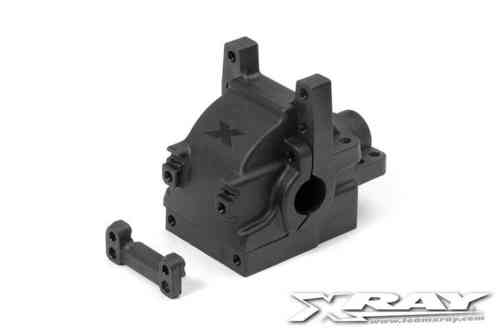 XRAY 362001 - XB4 DIFF BULKHEAD BLOCK SET REAR