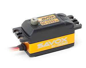 SAVÖX SC-1252MG Low-Profile Digitalservo