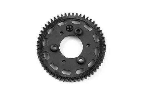 XRAY 335655 - NT1 2013 Graphite 2-Speed Gear 55T (2nd)