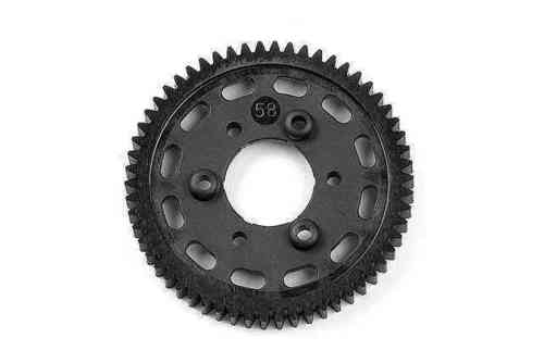 XRAY 335658 - NT1 2013 Graphite 2-Speed Gear 58T (1st)