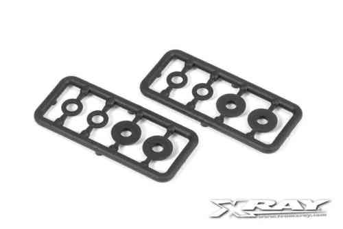 XRAY 358019 - XB8 2016 Composite Set of Shims for Shocks (2)