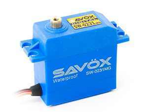 SAVÖX SW-0231MG - Waterproof High Voltage Servo