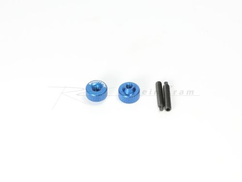 Exotek 1191MB - ALLOY TWIST NUTS MEDIUMBLUE