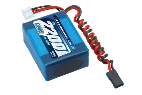LRP 430350 - VTEC LiPo 2200 RX-Pack small Hump - RX-only - 7.4V