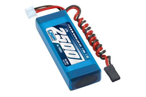 LRP 430351 - VTEC LiPo 2500 RX-Pack 2/3A Straight - RX-only - 7.4V