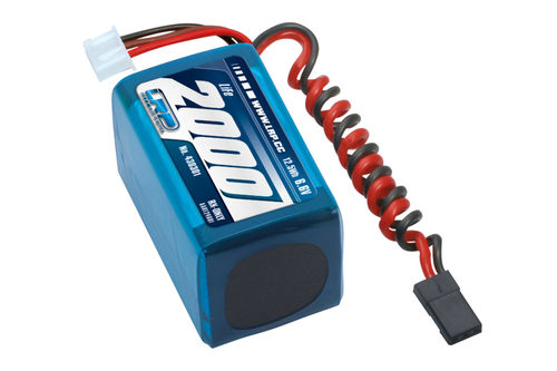 LRP 430301 - VTEC LiFePo 2000 RX-Pack 2/3A Hump - RX-only - 6.6V