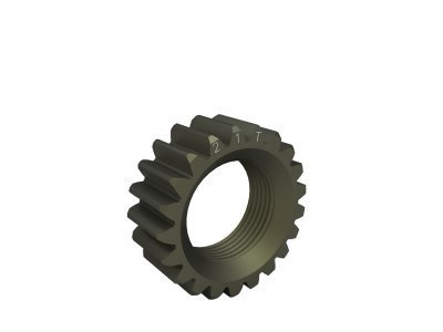 NT1338521 - 2nd. GEAR 21T (7075 HARD) for XRAY NT1