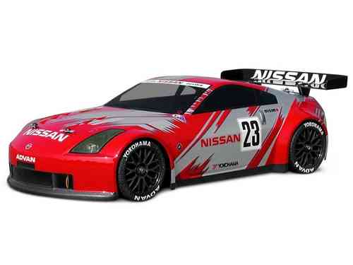 HPI 7385 - NISSAN 350Z NISMO GT RACE KAROSSERIE (190mm) [GT Challenge legal!]