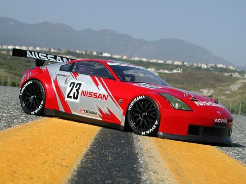 HPI 7385 - NISSAN 350Z NISMO GT RACE BODY (190mm) - RC-KleinKram ...