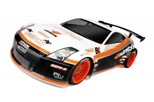 HPI 103886 - Nissan 350Z Hankook Karosserie 200mm [GT Challenge legal!]
