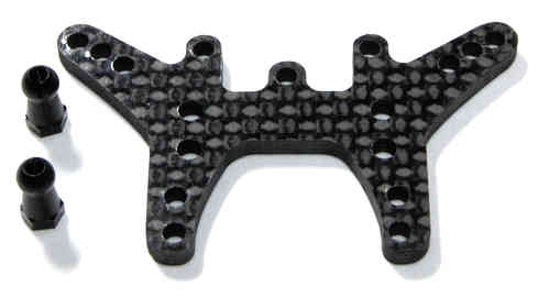 Exotek 1038 - RC18T/B2 CARBON TOWERS- REAR