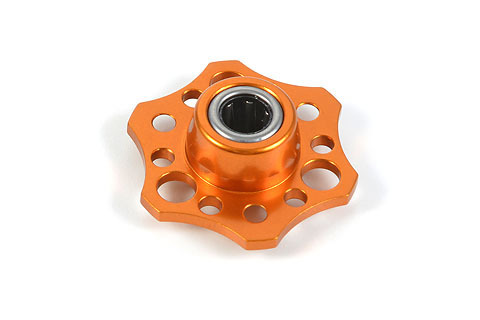 XRAY 335531-O - NT1 Alu Lightweight Drive Flange W/One-Way B. - Orange