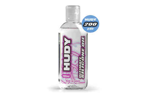 HUDY 106321 - HUDY ULTIMATE Silicon Öl 200 cSt - 100ML