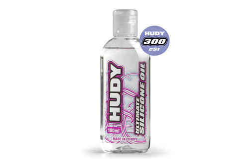HUDY 106331 - HUDY ULTIMATE Silicon Öl 300 cSt - 100ML
