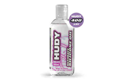 HUDY 106341 - HUDY ULTIMATE Silicon Öl 400 cSt - 100ML
