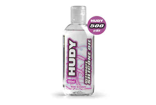HUDY 106351 - HUDY ULTIMATE Silicon Öl 500 cSt - 100ML