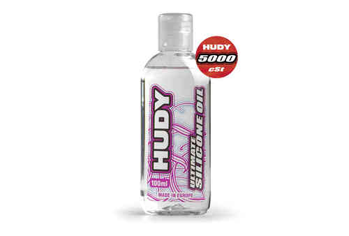 HUDY 106451 - HUDY ULTIMATE Silicon Öl 5000 cSt - 100ML