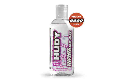 HUDY 106461 - HUDY ULTIMATE Silicon Öl 6000 cSt - 100ML