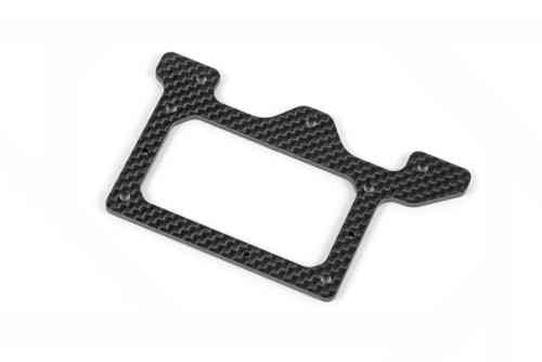 XRAY 371145 - X10 Link 2015 Graphite Rear Pod Lower Plate 2.5mm