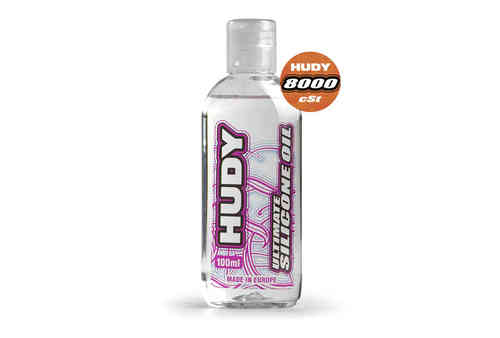 HUDY 106481 - HUDY ULTIMATE Silicon Öl 8000 cSt - 100ML