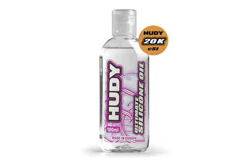HUDY 106521 - HUDY ULTIMATE Silicon Öl 20.000 cSt - 100ML