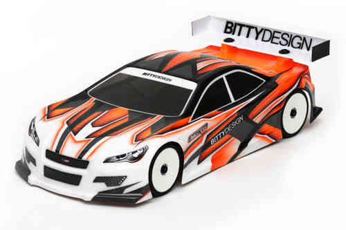 Bitty Design BDTC-190SRK3.0 - 190mm Tourenwagen Karosserie Striker 3.0 - LIGHTWEIGHT 2017