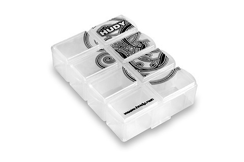 HUDY 298018 - Tiny Hardware Box - 8-Compartments