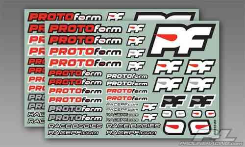 Protoform 9912-39 - Team Sticker