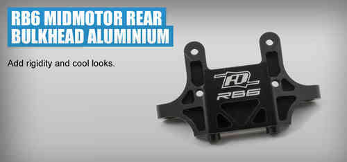 Revolution Design 0205 - RB6 Hinterer Bulkhead MM Aluminium