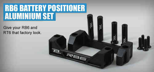 Revolution Design 0211 - RB6 Alu Akku Positionierer Set