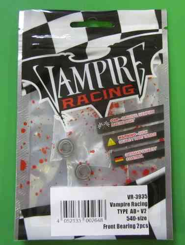 Vampire Racing 3935 - Brushless Motor TYPE AB+ V2 - Ersatz Kugellager (2 Stück)