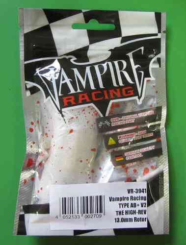 Vampire Racing 3941 - Brushless Motor TYPE AB+ V2 - 13.0mm Rotor THE ALLROUNDER