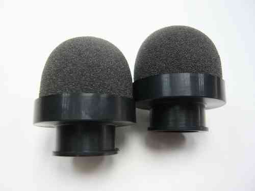 Xceed 103000 - Foam airfilter with dia 15mm (2 pieces)