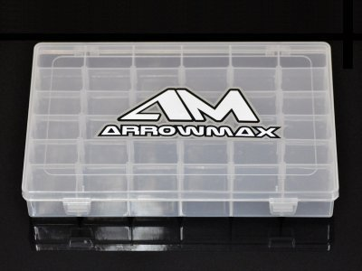 Arrowmax 199523 - Small parts box - 36 compartements - variable