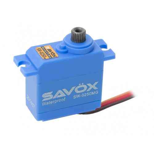 SAVÖX SW-0250MG - Servo for plains, cars, boats