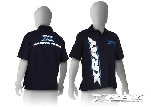 XRAY 395201 - Team Polo Shirt - blue - size S