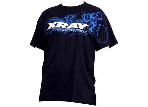XRAY395013 -  TEAM T-SHIRT L - BLUE