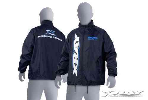 XRAY 396004 - Team Rain Jacket / Windbreaker - Size XL - dark blue